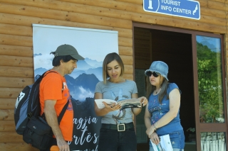 Promotion of the Albanian Alps, event organized in Theth