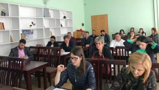 Public hearing with businesses in Shijak Municipality