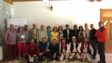 Promotion of the Albanian Alps, event organized in Valbona